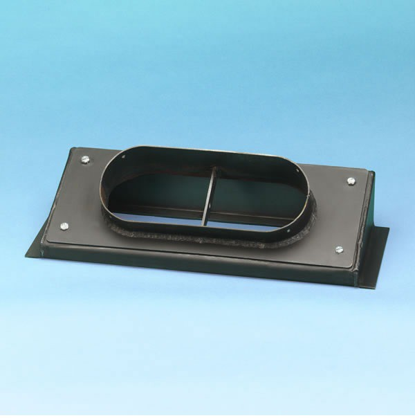 Stove Pipe Rectangle To Round Stove Pipe Adapter
