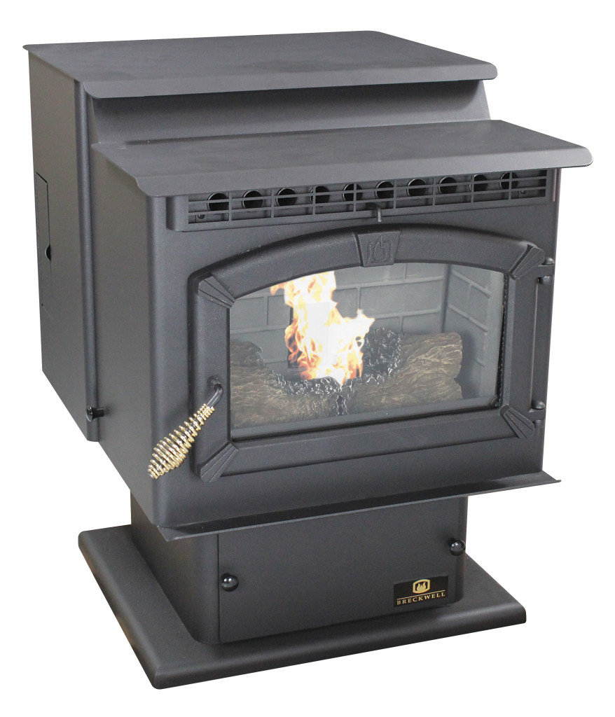 Breckwell SP23P Sonora Pellet Stove w/Pedestal