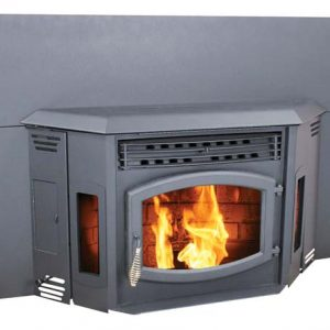 Breckwell SP24I Blazer Pellet Stove Insert w/Surround Panel