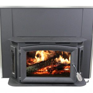 Breckwell SW180 Bay Front Wood Stove with Surround Panel