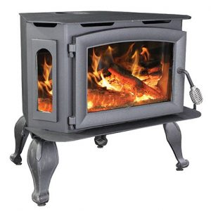 Breckwell SW180 with Leg Kit Bay Front Wood Stove