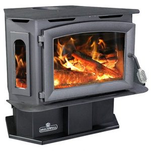 Breckwell SW180 with Pedestal Wood Stove
