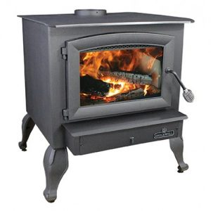 Breckwell SW740 Wood Stove With Leg Kit