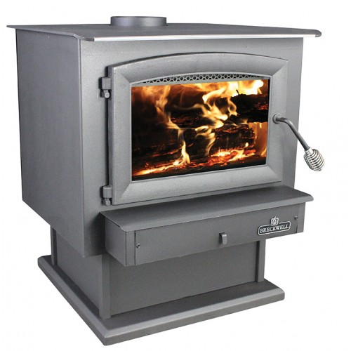 Breckwell Sw740 Wood Stove With Pedestal