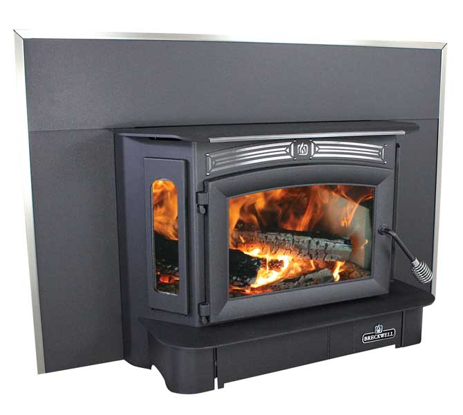 Breckwell Sw940 Wood Stove Insert With Surround Panel