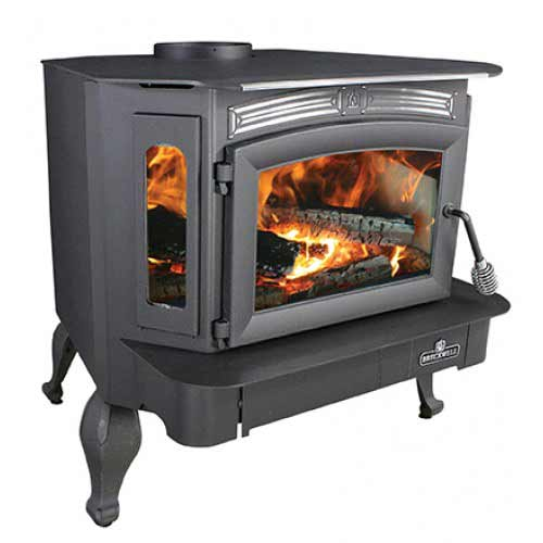 Breckwell SW940L Wood Stove on Legs - Wood Burning Stove Repair & Replacement Parts Online Buck Stove