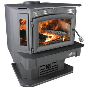 Breckwell SW940P Wood Stove on Pedestal