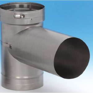 Chimney Liner with Tee