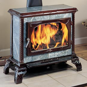 The Homestead Soapstone Wood Stove By Hearthstone
