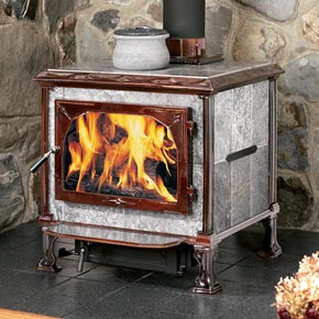 The Mansfield Soapstone Wood Stove By Hearthstone