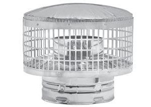 Cap Spark Arrester Stainless Only 8″