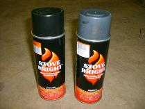 High Heat Stove Paint -1200 degrees