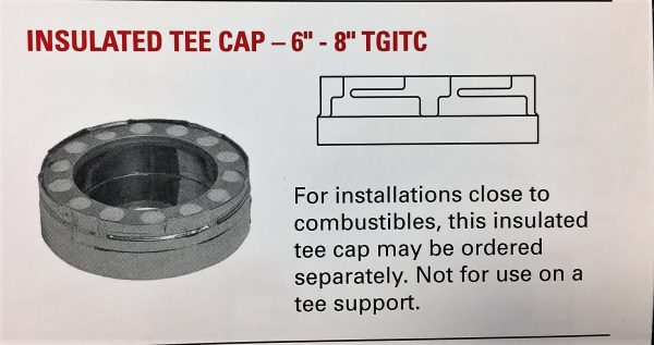 """Insulated Cap Only 8"""""""