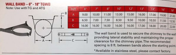 """Wall Band 8"""""""