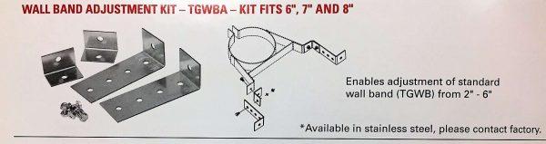 Wall Band Adjustment Kit